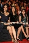 Sridevi and her daughter Jhanvi at Stardust Awards 2010