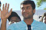 Actor Surya at Chennai Marathon 2008