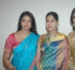 Sangavi at Actress Meena Wedding Reception