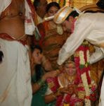 South indian and Bollywood actress Rambha and buisnessman Indra Kumar wedding pictures (2)