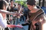 Aishwarya Rai Bachchan at Raavan premiere in London