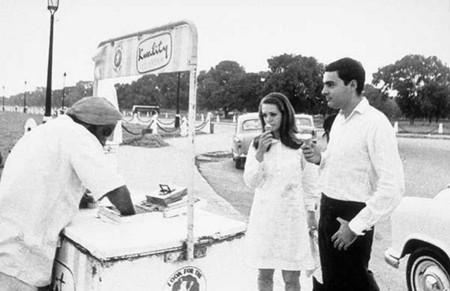 Sonia Gandhi with Rajiv Gandhi