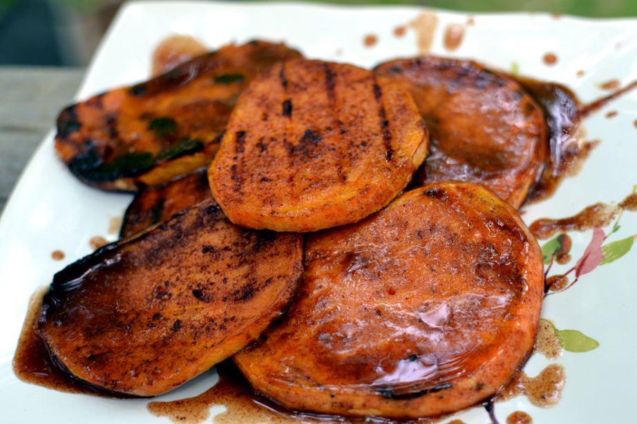 Image result for grilled sweet potatoes