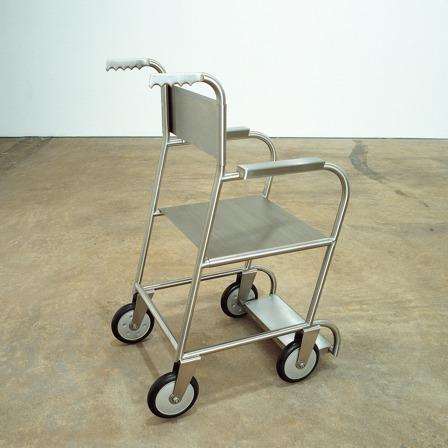 Untitled (Wheelchair II) by Mona Hatoum