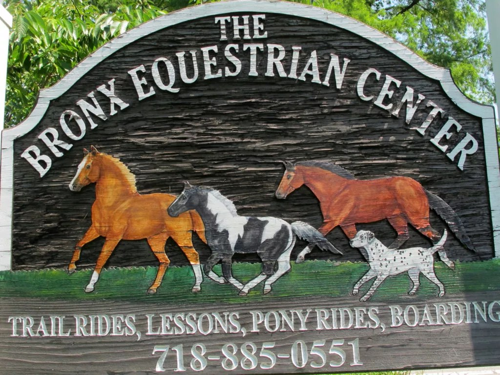 The Bronx Equestrian Center in Bronx, NY