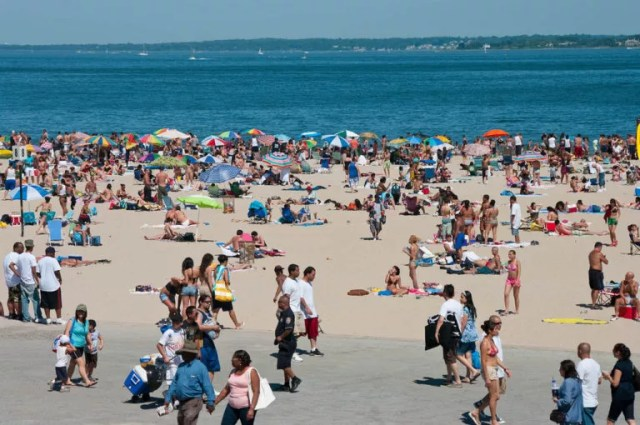 Orchard Beach in Bronx, NY