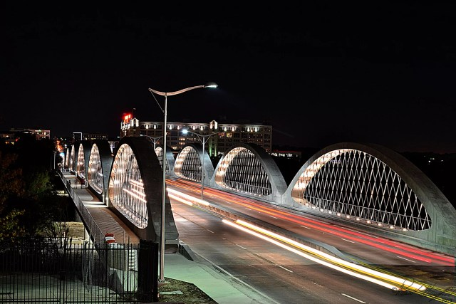 West 7th Bridge in Fort Worth, TX