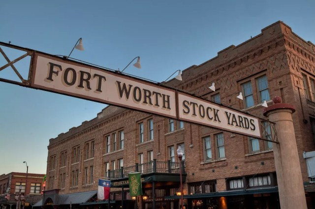 Stock Yards in Fort Worth, TX