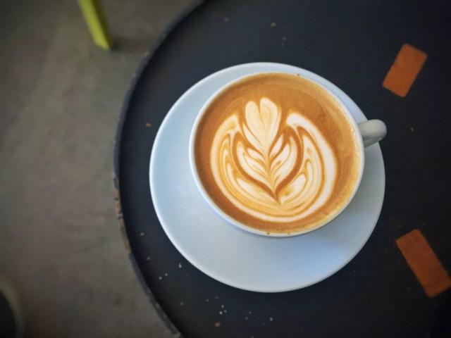 Latte at Cognoscenti Coffee