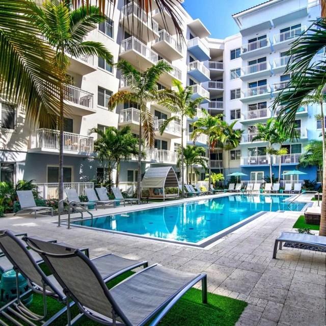 Boca City Walk Apartments in Boca Raton, FL. Photo by Instagram user @bocacitywalkapts