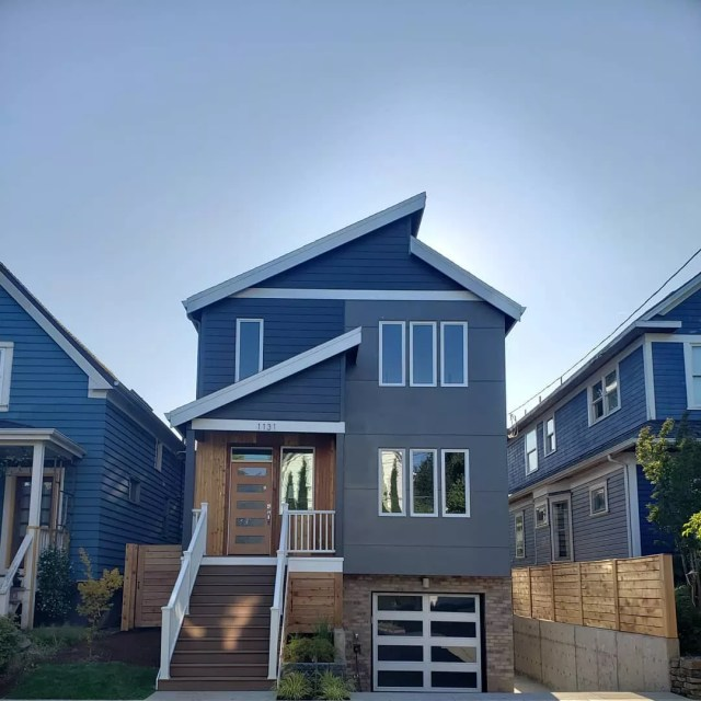 Rental home in Southeast Portland, Oregon. Photo by Instagram user @thakthakinn