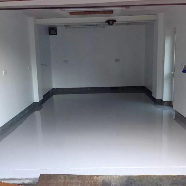 Empty Garage with Plenty of Storage Room. Photo by Instagram user @dylanjones78