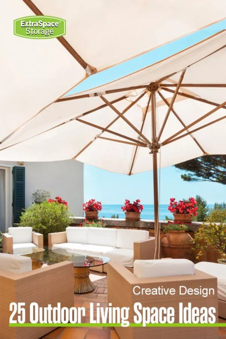 25 outdoor living space ideas