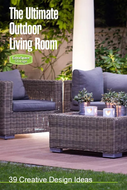 the ultimate outdoor living room