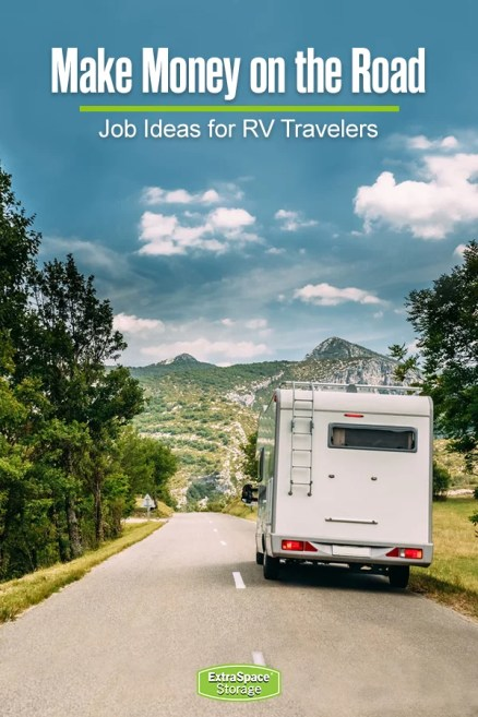 Make money while traveling in an RV