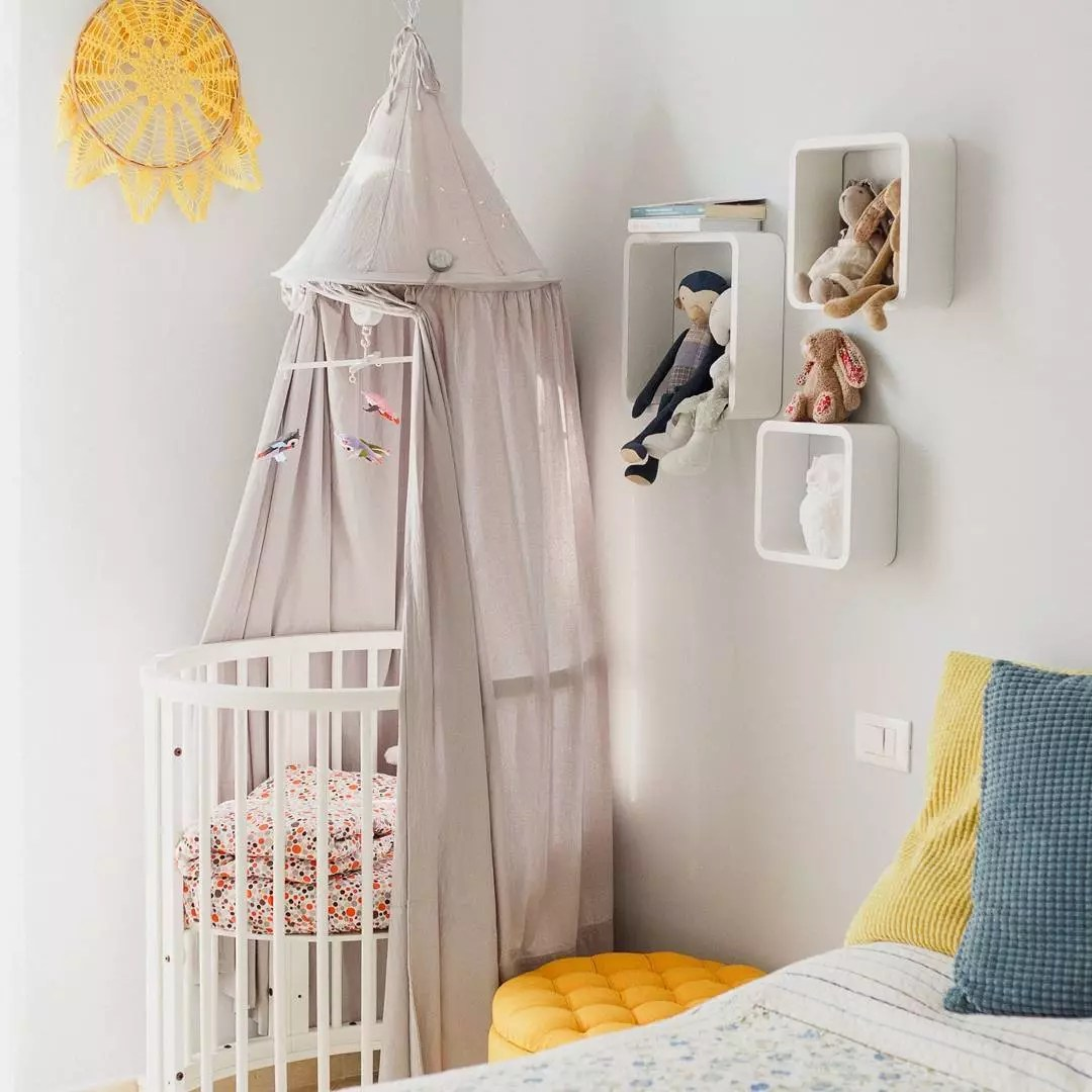 Tiny baby corner. Photo by Instagram user @irmahoney