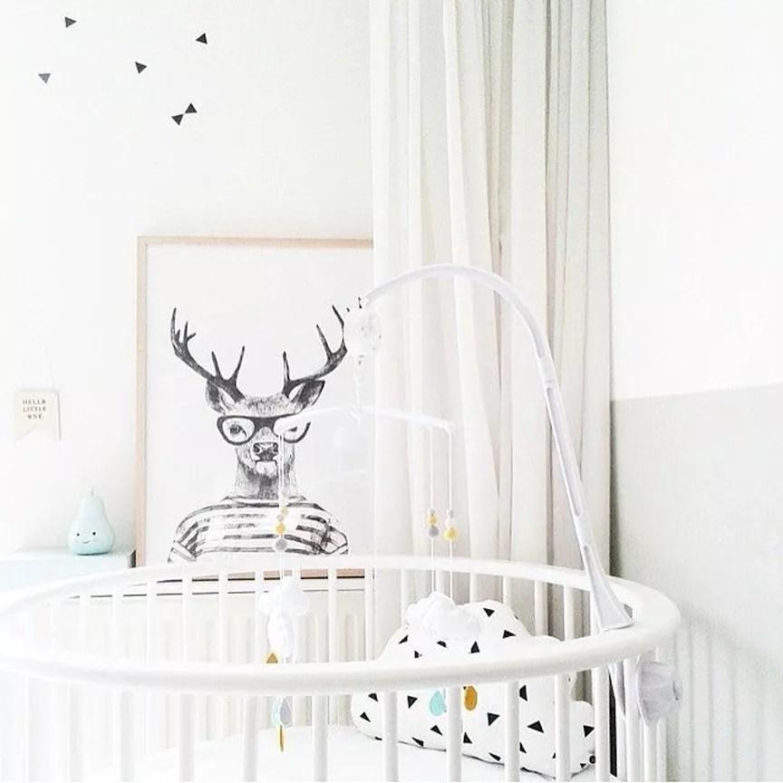 Mini baby crib. Photo by Instagram user @cubbymart