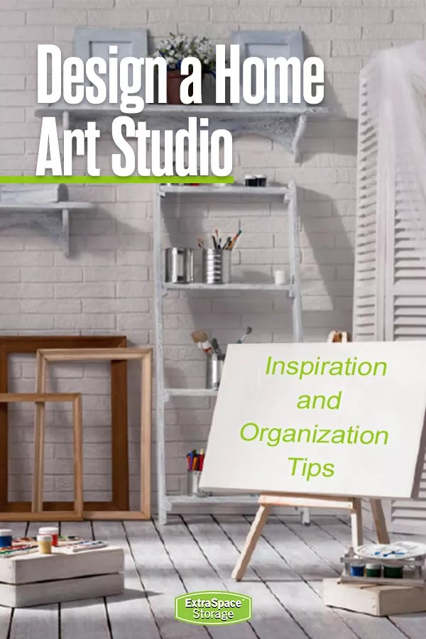 Design a Home Art Studio