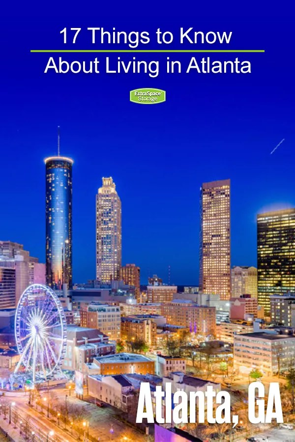 Things to Know About Living in Atlanta, GA