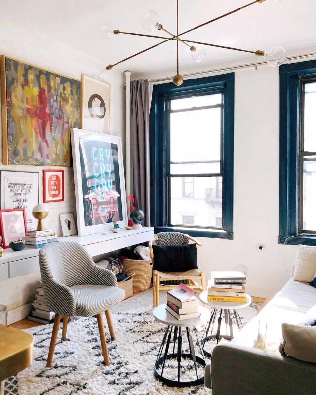 Modern Studio Apartment with Upbeat Design. Photo by Instagram user @aguynamedpatrick