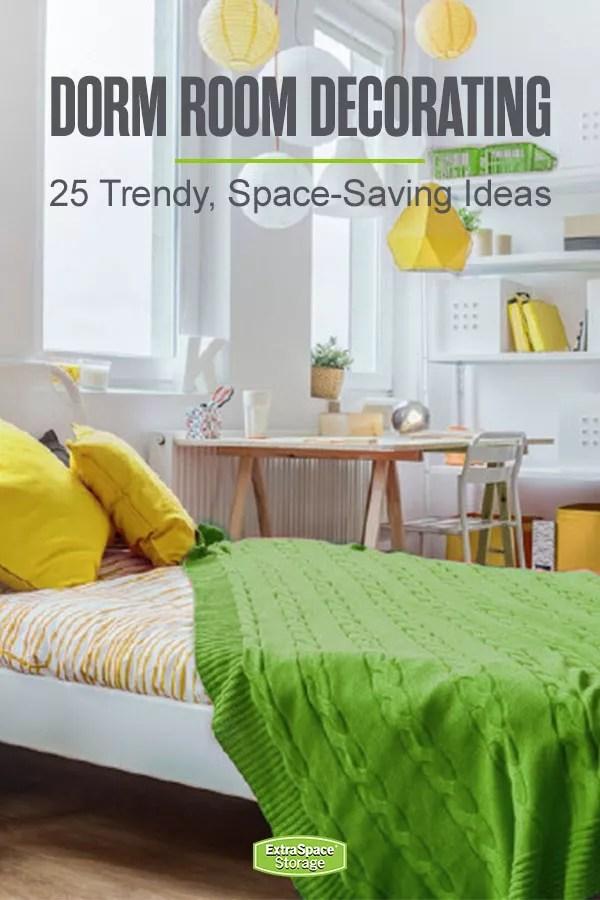 25 Stylish & Functional Dorm Room Decor Ideas | Extra Space Storage