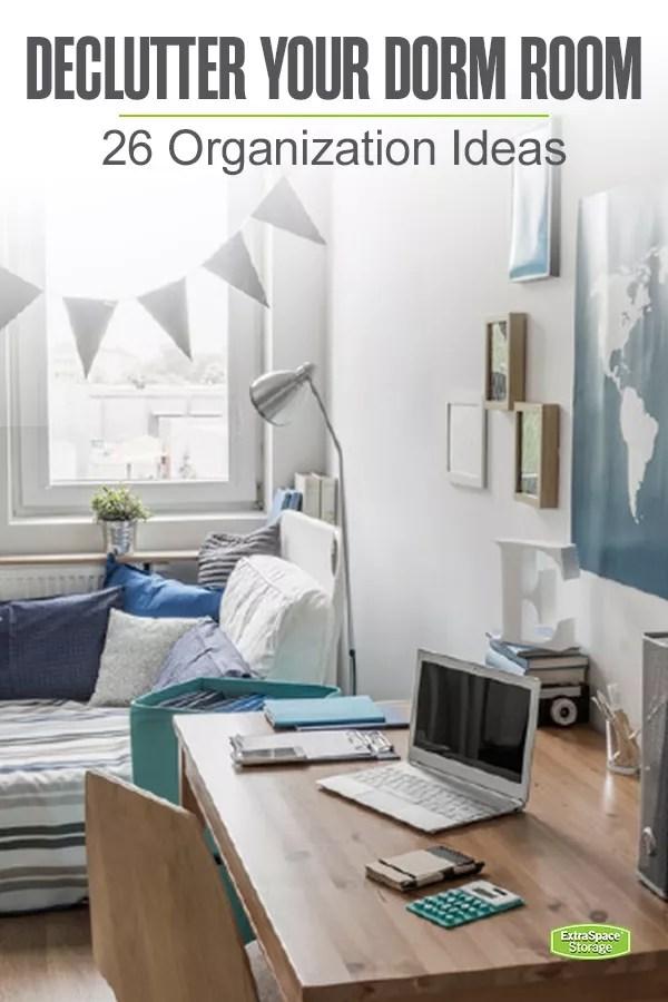 Declutter Your Dorm Room