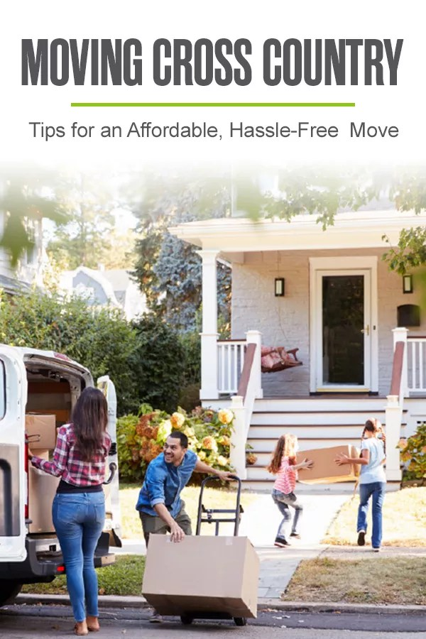 Moving Cross Country: Tips for an Affordable Move
