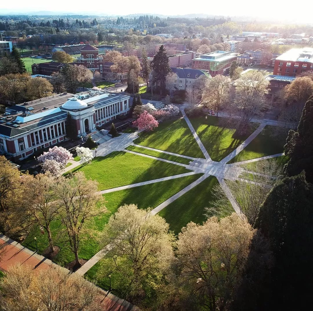 Oregon State University Campus Photo by Instagram User @vahid_g