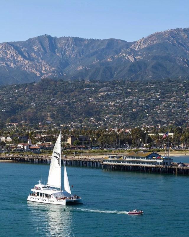 Coast of Santa Barbara, CA. Photo by Instagram user @footephotos