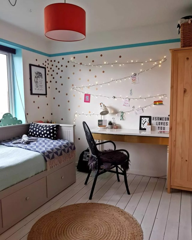 Home Study Design Ideas: 20 Cute Kids Study Room Ideas