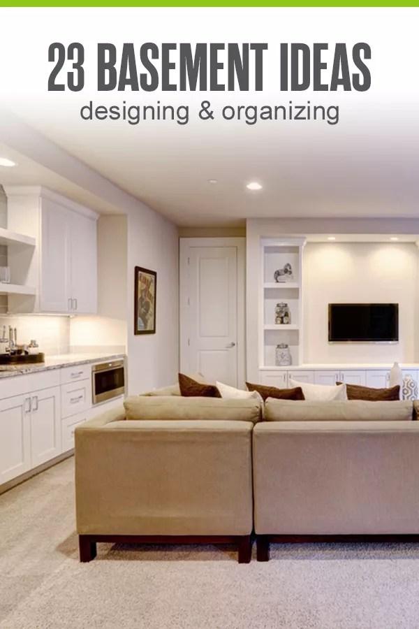 23 Basement Design Ideas