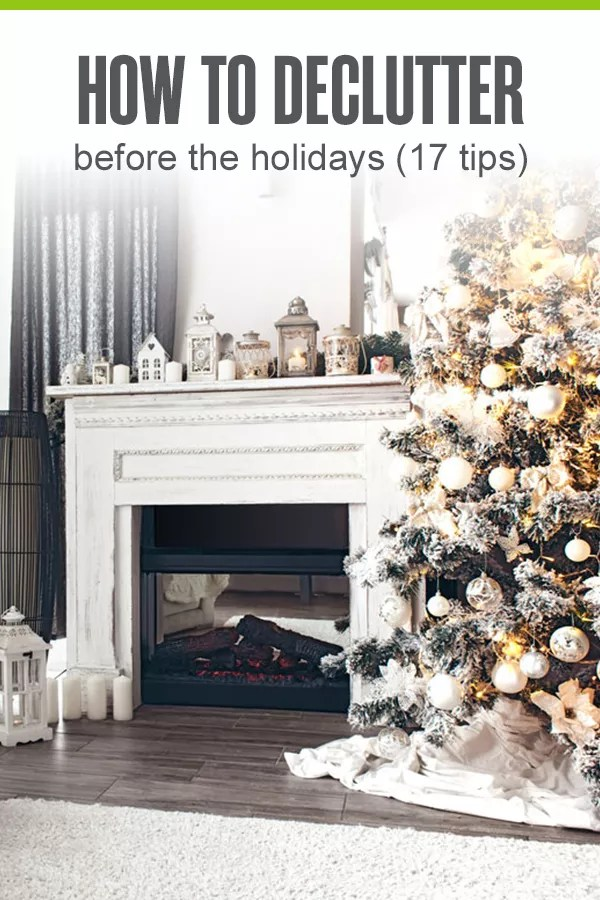 How to Declutter Before the Holidays