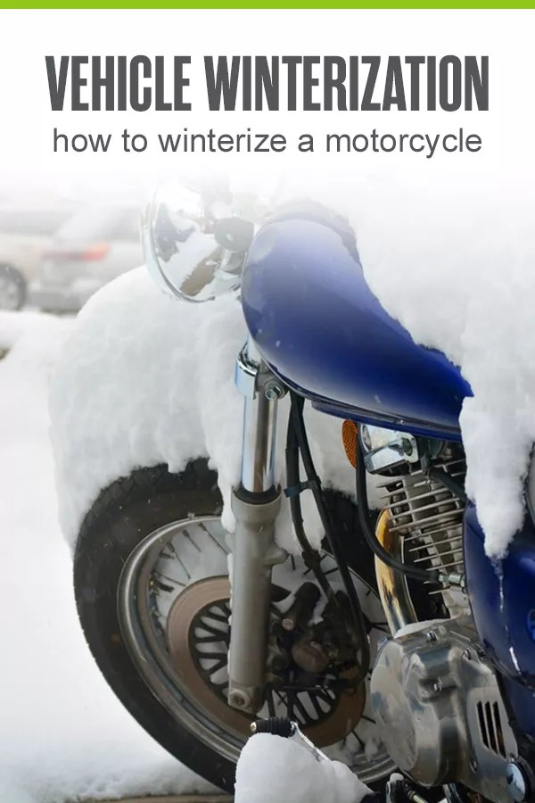 How to Winterize a Motorcycle
