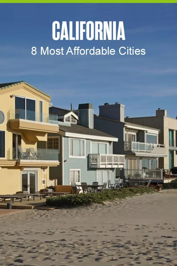 Most Affordable Cities in California