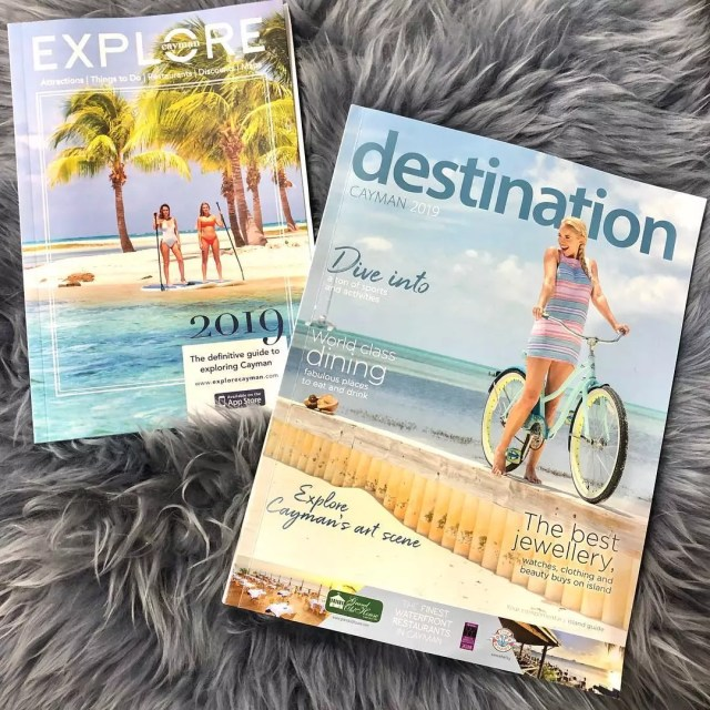 Two Different Travel Magazines. Photo by Instagram user @deepblueimages