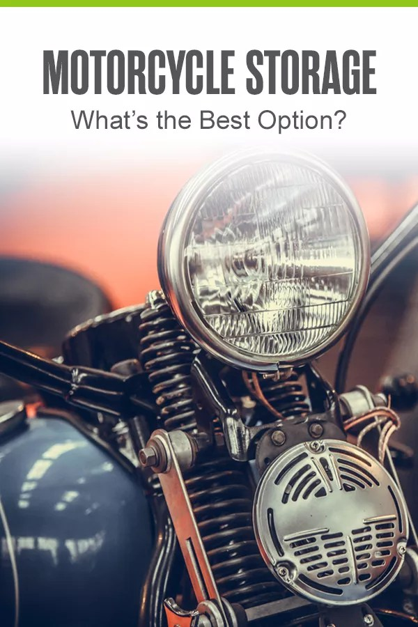 Best Options for Motorcycle Storage
