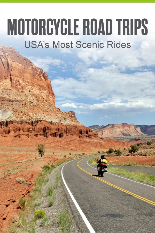 USA's Most Scenic Motorcycle Road Trips