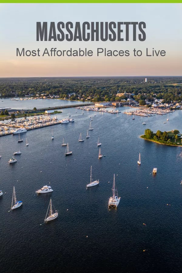 Pinterest Graphic: Massachusetts: Most Affordable Places to Live