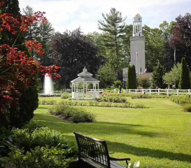 Gardens at Stanley Park in Westfield, MA. Photo by Instagram user @vegwen