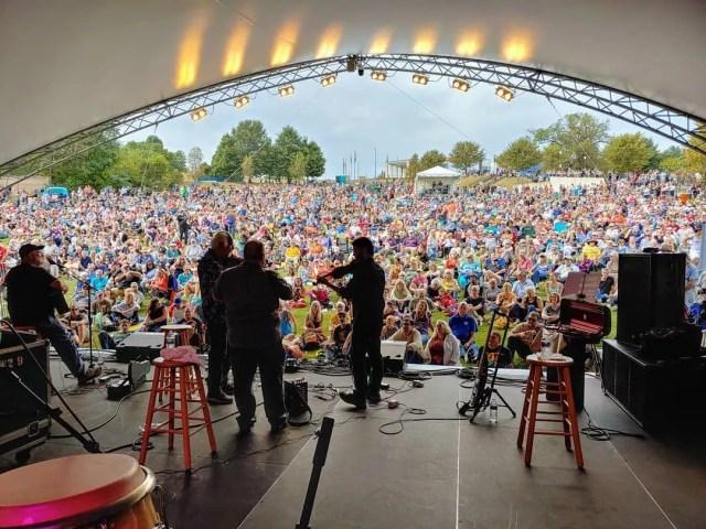 Richmond Folk Festival concert. Photo by Instagram user @rvafolkfest