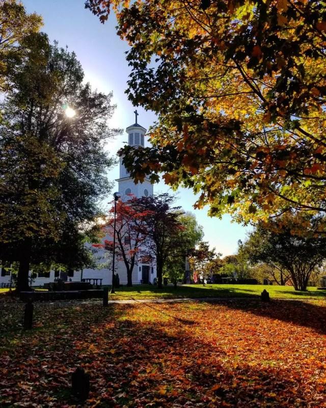 St John's Church in Richmond, VA. Photo by Instagram user @lookuprichmond