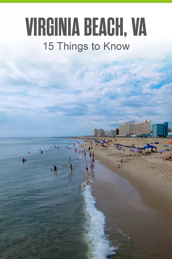 Pinterest Graphic: Virginia Beach, VA: 15 Things to Know