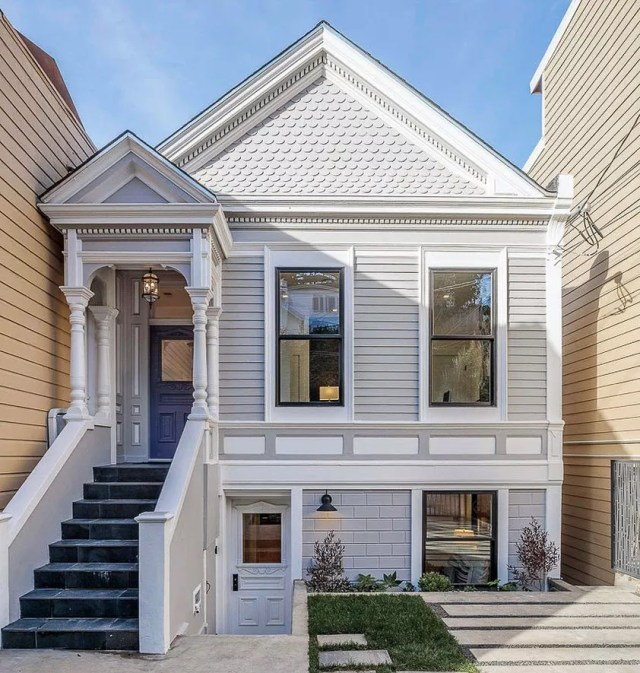 Cottage Style Home in Bernal Heights, San Francisco. Photo by Instagram user @sf_daily_photo