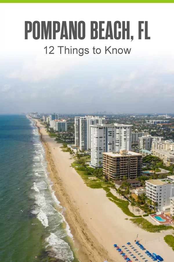 Pinterest Image: Pompano Beach, FL: 12 Things to Know