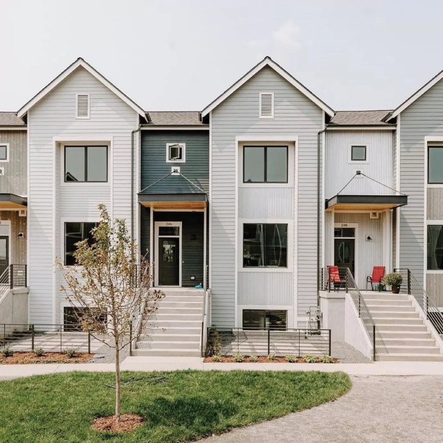 New Construction Townhomes in Louisville, Colorado. Photo by Instagram user @bouldervalleyliving