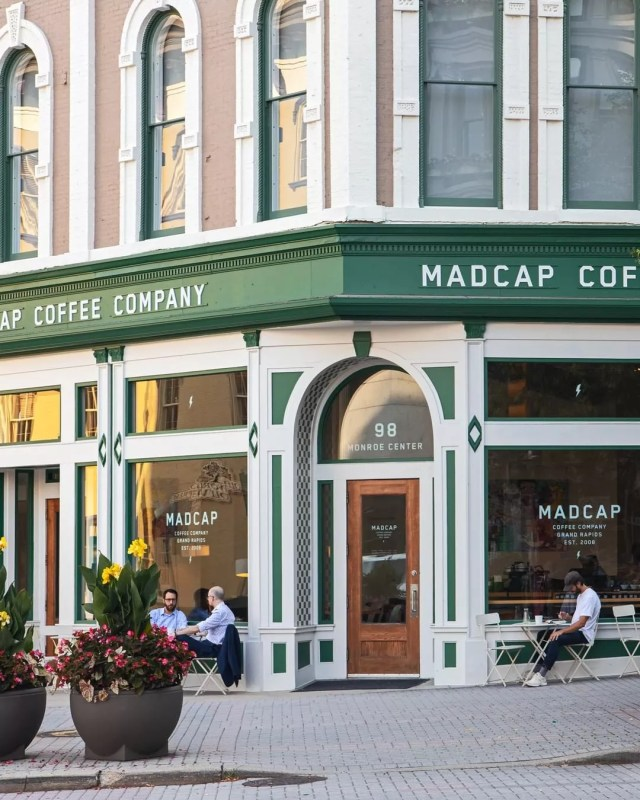 Madcap Coffee in downtown Grand Rapids. Photo by Instagram user @madcapcoffee
