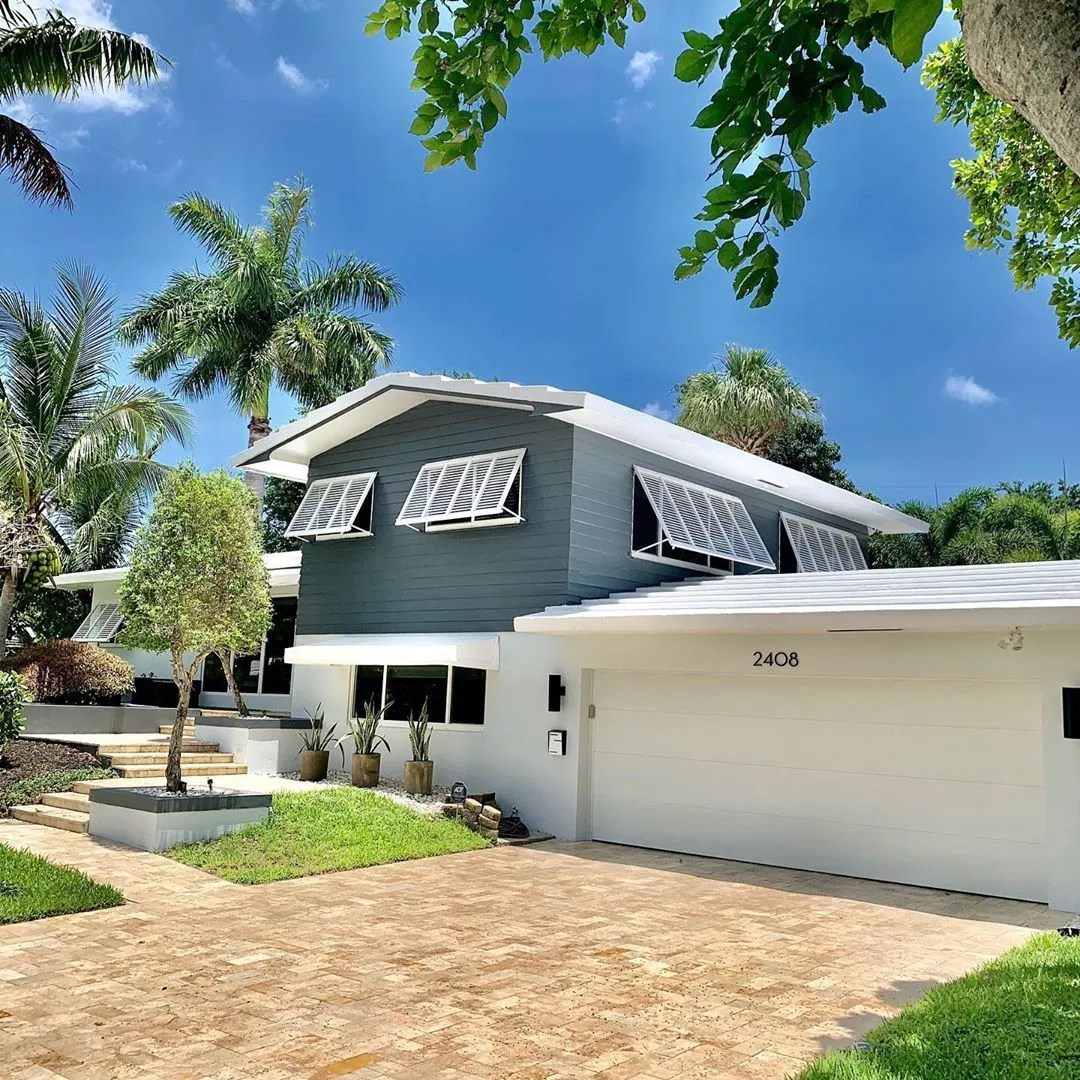Classic Split Level Home in Coral Ridge. Photo by Instagram user @brian_scharick