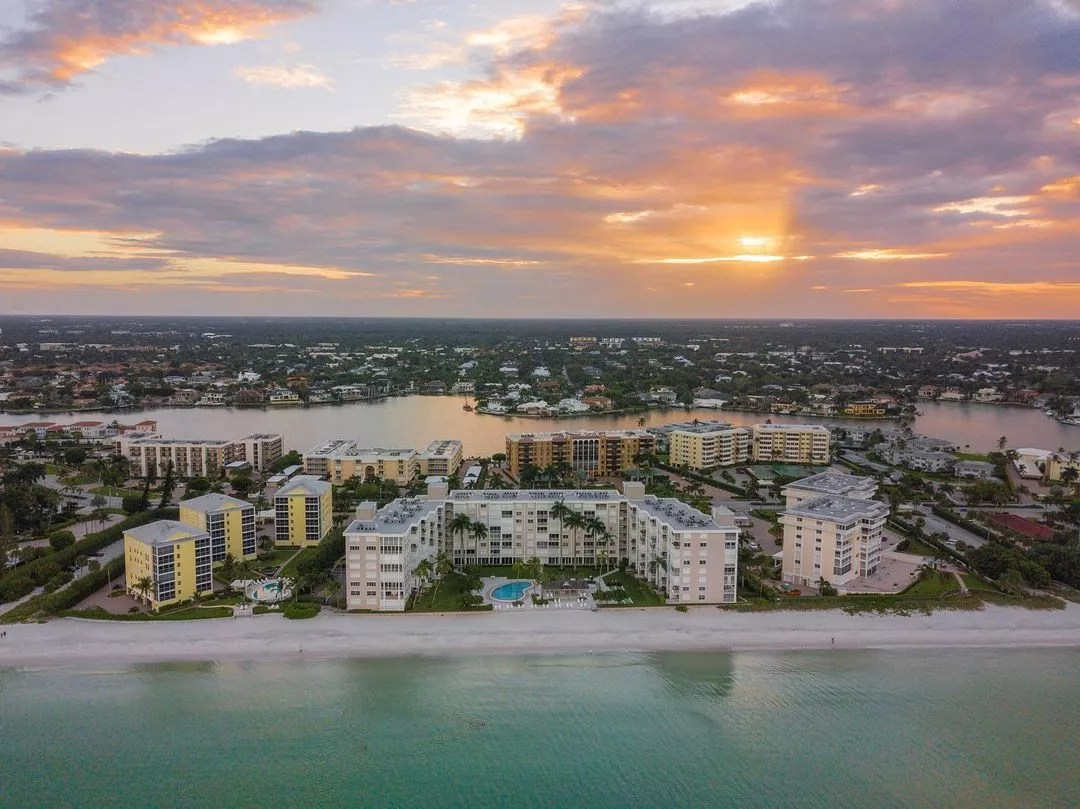 View of the Fort Myers Coast at Sunset. Photo by Instagram user @proplife_imaging
