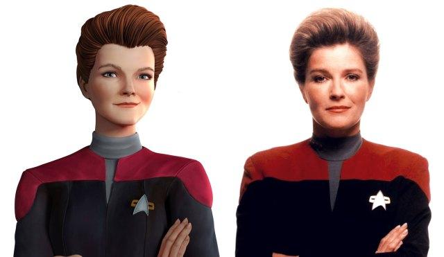 STAR TREK: PRODIGY – Kate Mulgrew svela come il capitano Kathryn Janeway incontrerà i protagonisti della serie