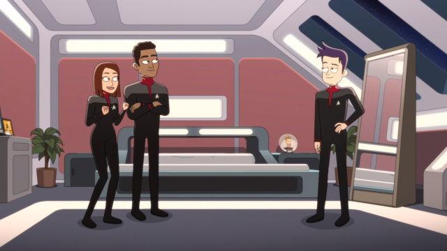 Star Trek: Lower Decks 2, Boimler è sulla Titan, il doppiatore Jack Quaid ne parla